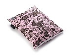 Wet Happened? Wet Bag - Pink and Brown Floral
